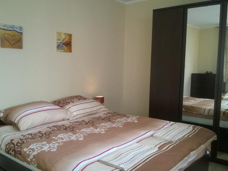 Apartament Lux sypialnia