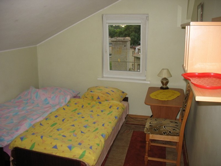 pokój 2 osobowy na poddaszu