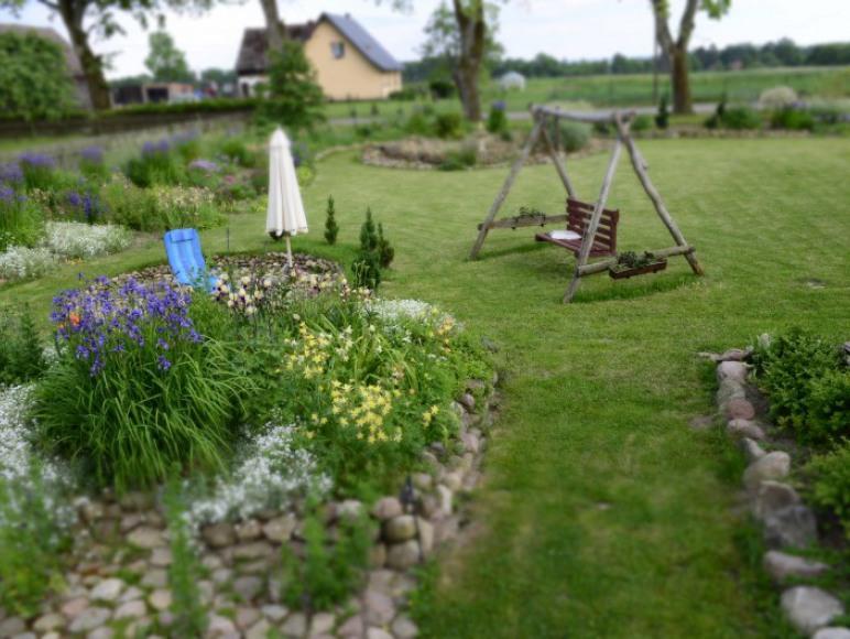 Jedna z części ogrodu