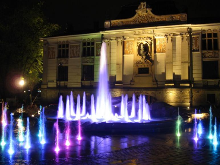 Fontanna na Placu Szczepańskim / Fountain on the Szczepanski Square