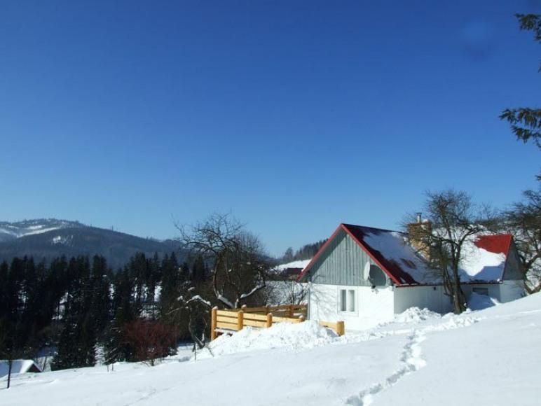 Widok na dom luty