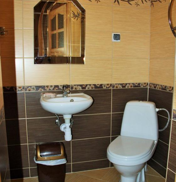 łazienka w pokoju nr 6