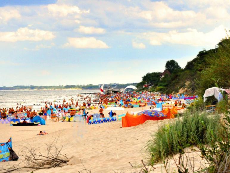Szeroka, romantyczna plaża