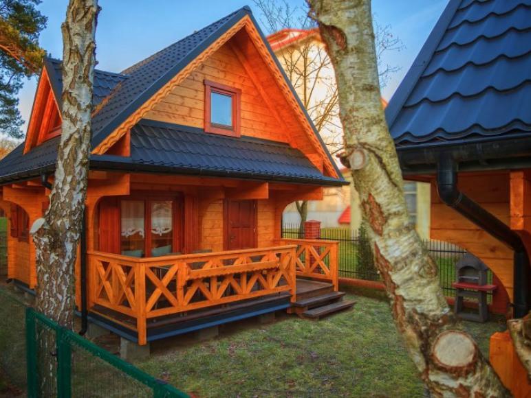 Domki z bali w Poddąbiu