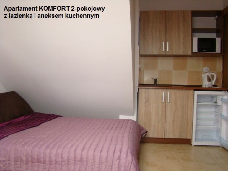 Apartament Komfort 2-pokojowy, pokój pierwszy