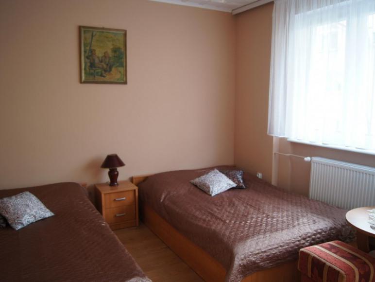 apartament widok sypialni