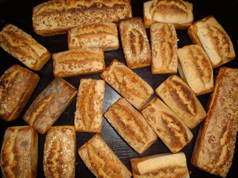 Ptaśkowy chleb na zakwasie
