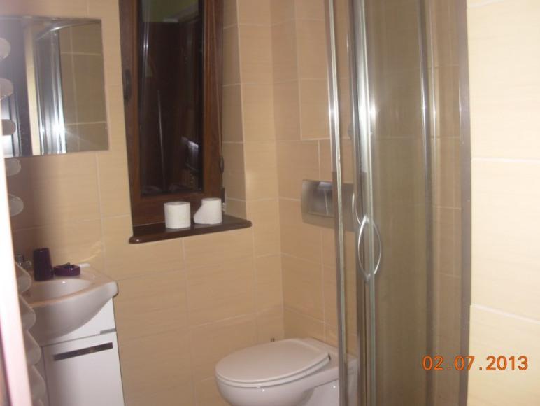 łazienka-pokoje na parterze