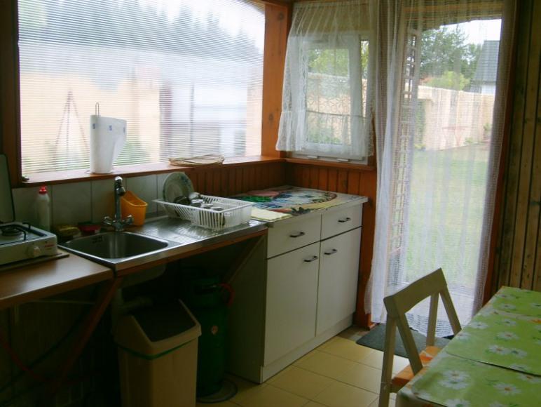 kuchnia w domku 5-o osobowym