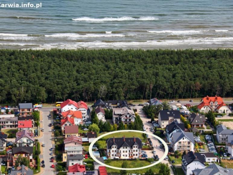 Columbus -odległość od plaży