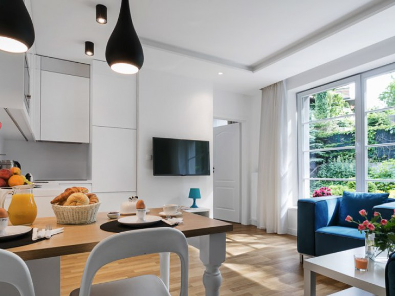 Apartaments Delux- salon