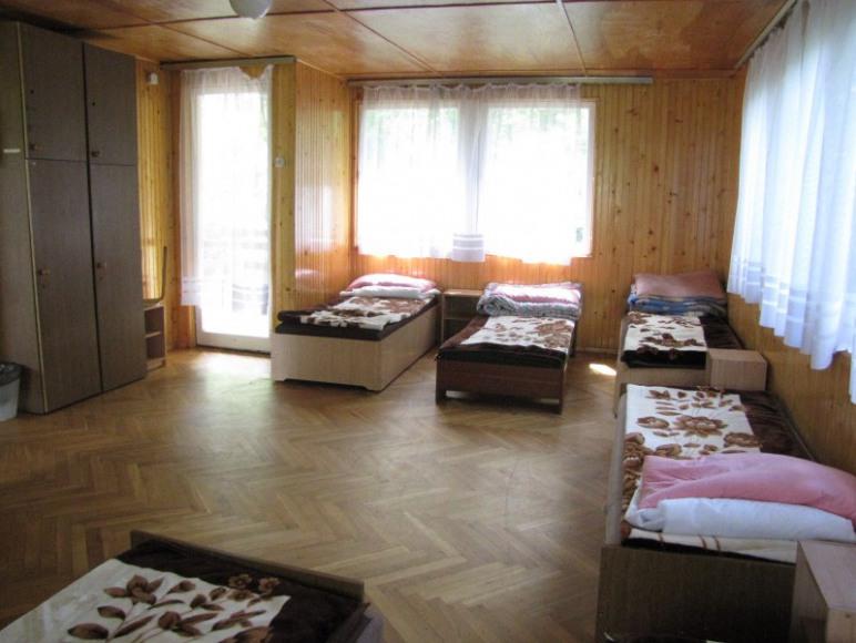 Wnętrze domku typu Mikołajek