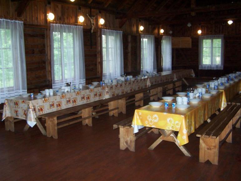 Wnętrze stołówki