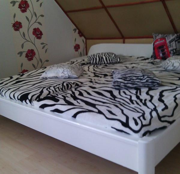 Sypialnia zebra