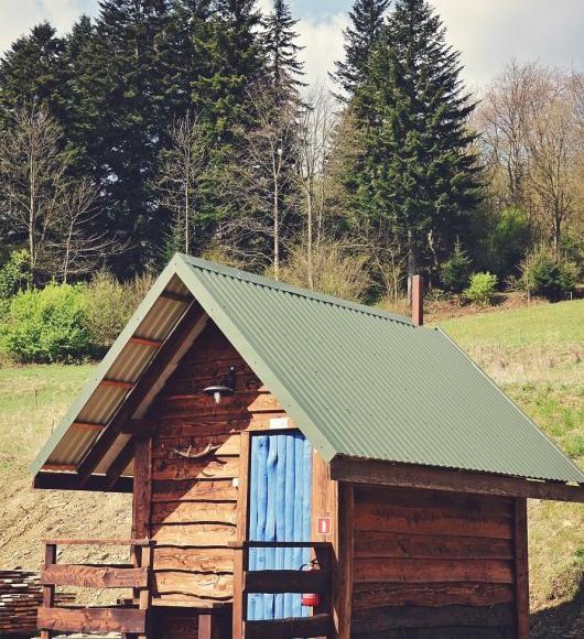 Chata w Bieszczadach, Ruska Bania - Sauna
