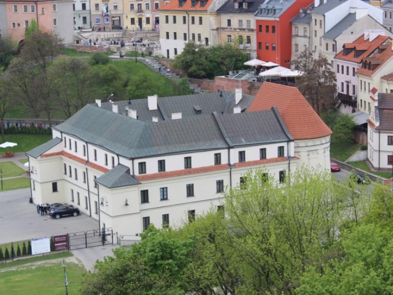 Widok z Zamku Lubelskiego.