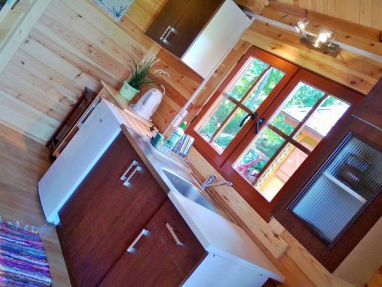 Kuchnia-domki w Dziemianach