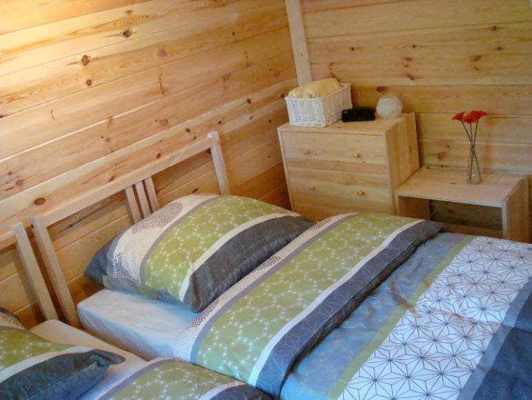 Sypialnia w Dziemianach