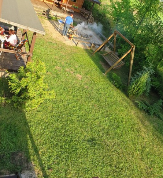 Ogród - widok z góry
