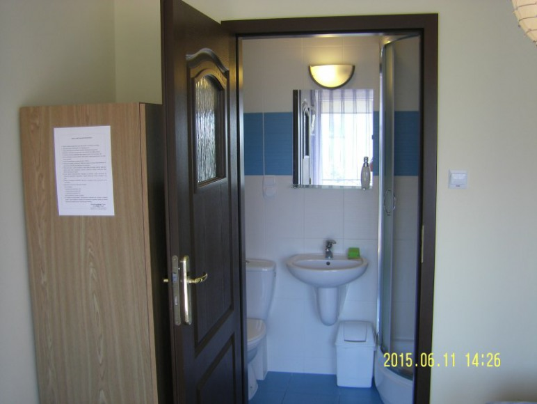 Łazienka pokój 2 os. piętro
