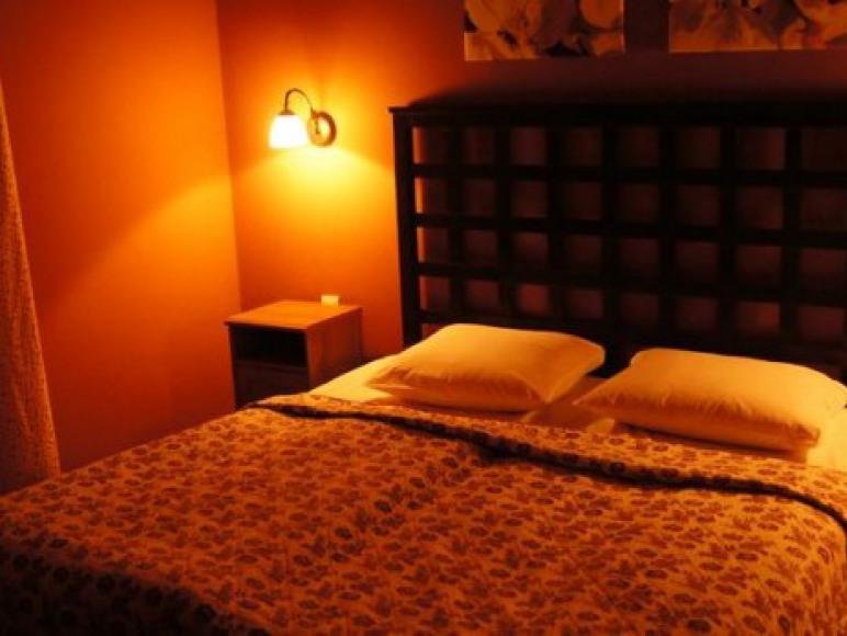 Apartament Rose - sypialnia