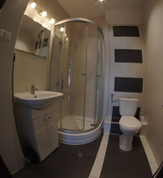 Apartament Green - łazienka