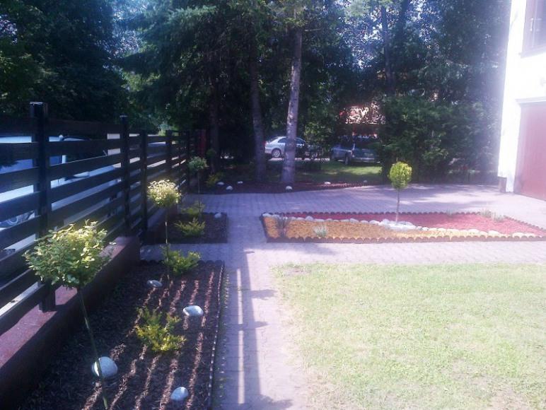 Ogród/ parking