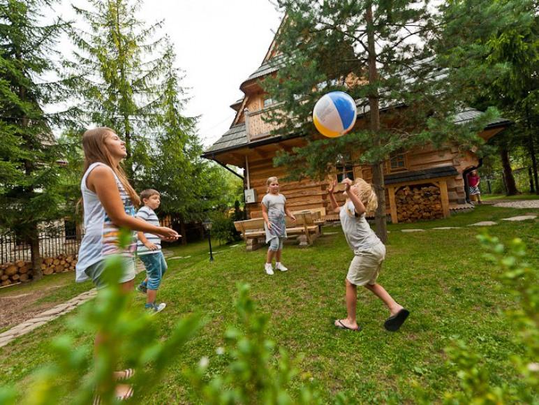 Pensjonat dla rodzin w samym Zakopanem