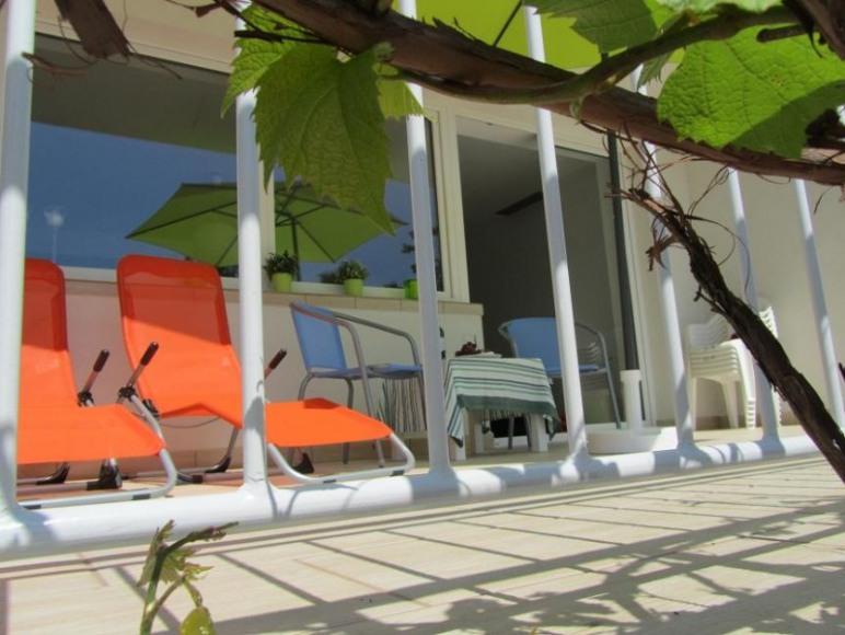 Apartament Brzozowy Las -taras