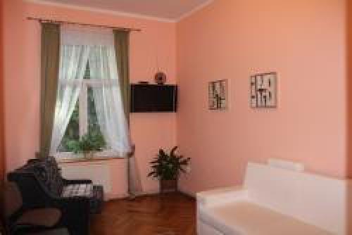 pokój dzienny apartament na parterze