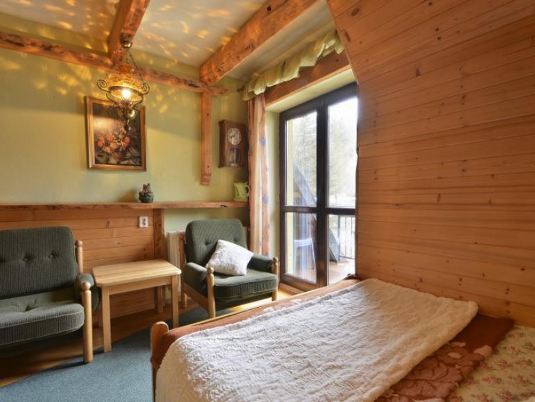 pok.nr4, 2os.(140x200) z łazienką, balkonem z widokiem na Giewont, TV, WiFi