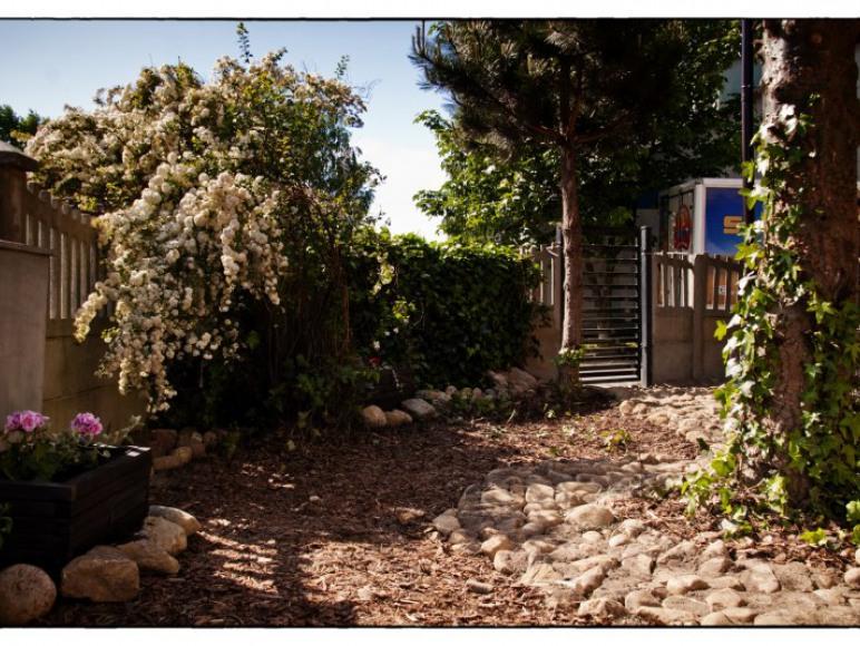 Ogród - strona wschodnia