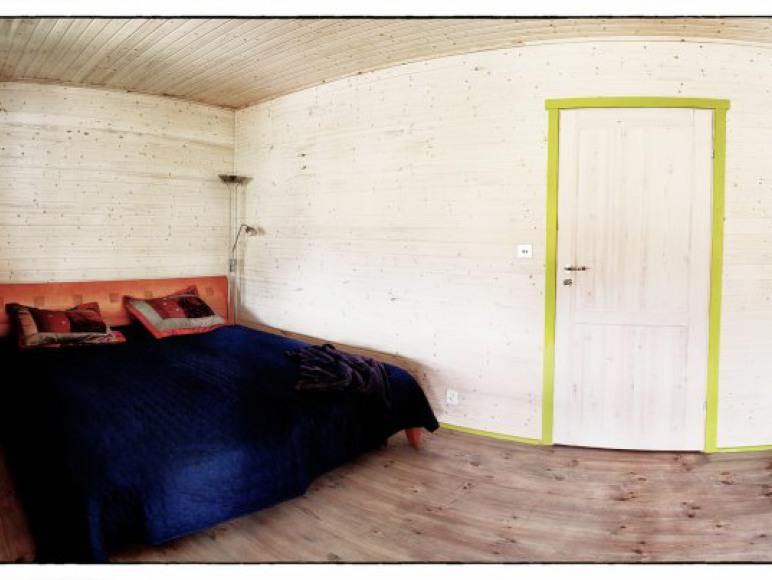 Sypialnia dwuosobowa - Apartament Limonkowy