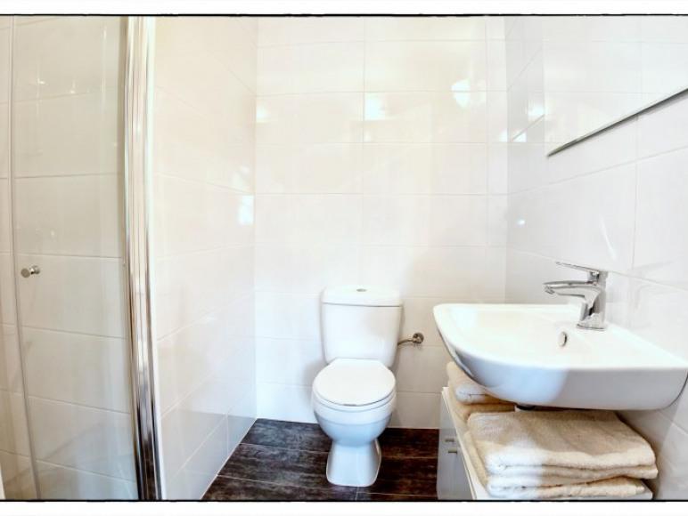 Łazienka - Apartament Niebieski