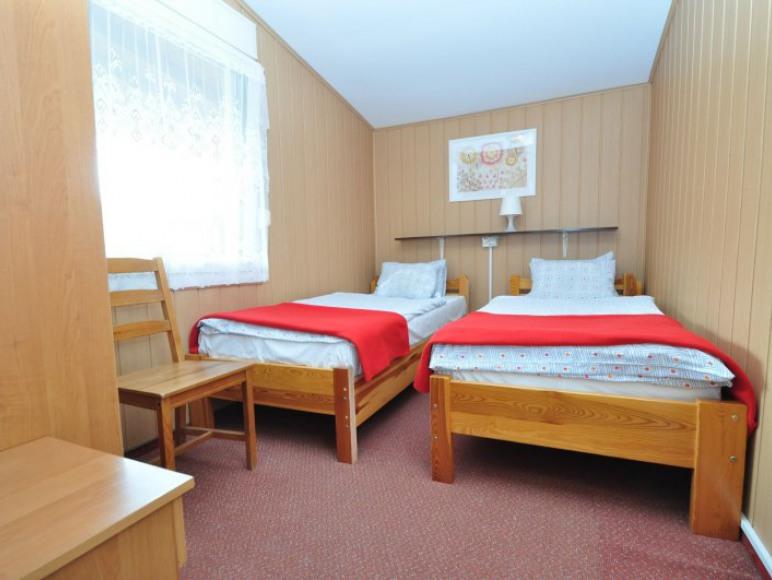 sypialnia -opcjonalnie duże łóżko małzeńskie 180x200cm