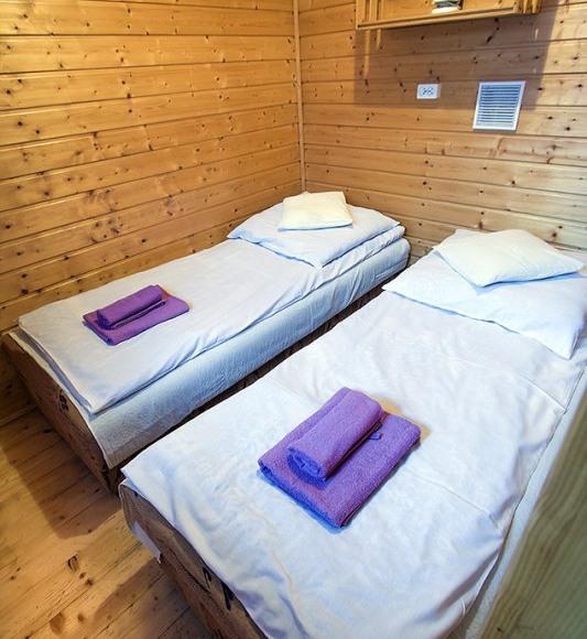 Domek typu B pokój 2 osobowy