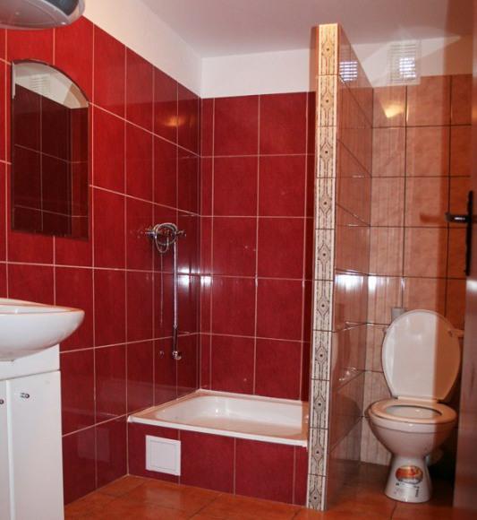 Łazienka domek duży