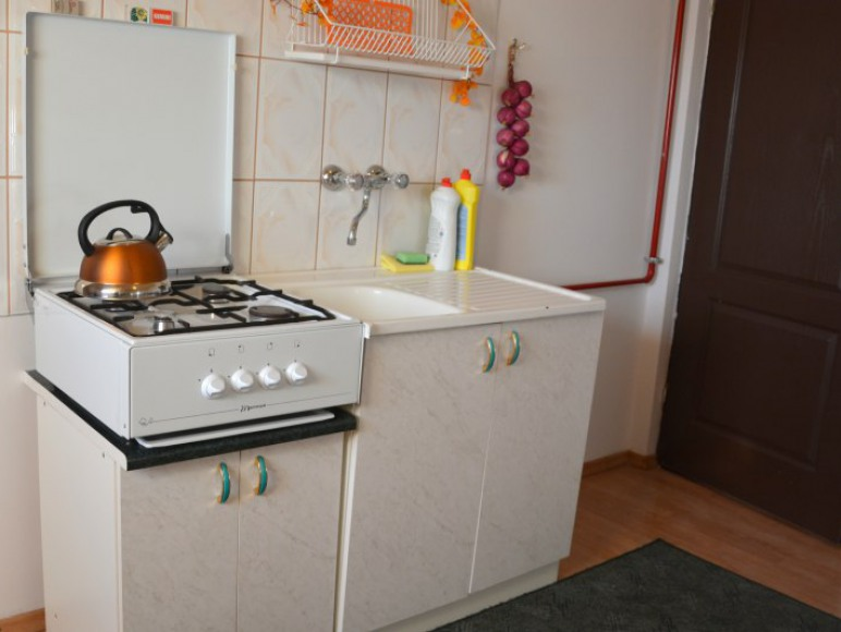 mieszkanie samodzielne - kuchnia