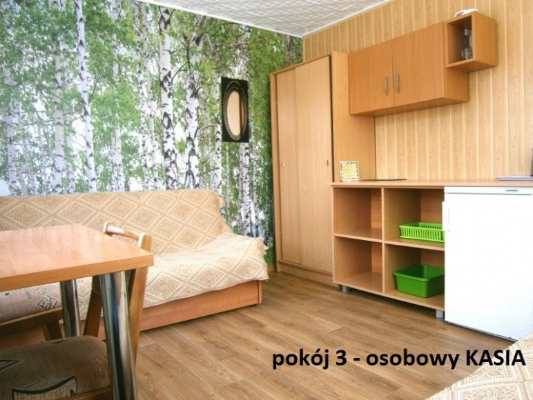 Pokoje w domkach