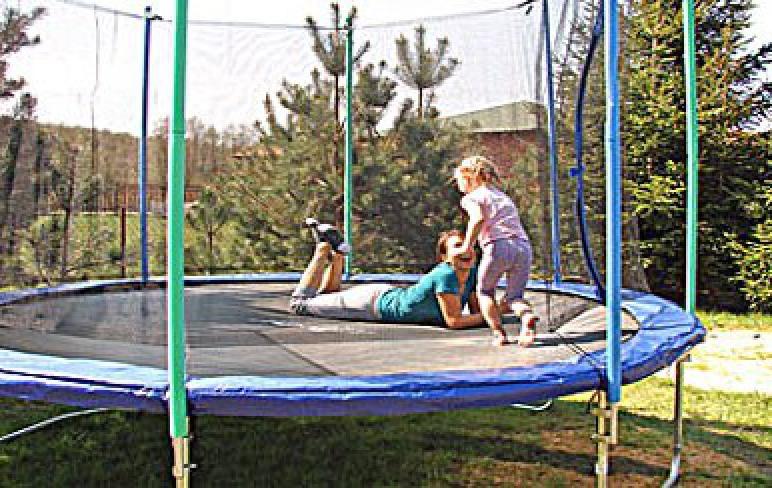 trampolina w Lubiatowie