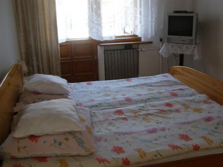 sypialnia z możliwością dostawki