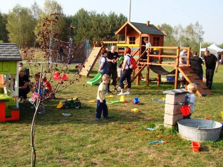 Agroturystyka Żabi Raj - plac zabaw dla dzieci