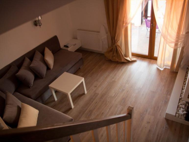 apartament komfort- część wypoczynkowa