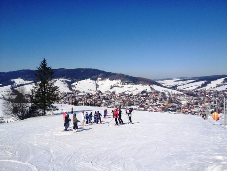 zajecia wprzedszkolu narciarskim MINI-MASTER