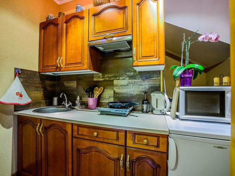 pokoje z aneksem kuchennym