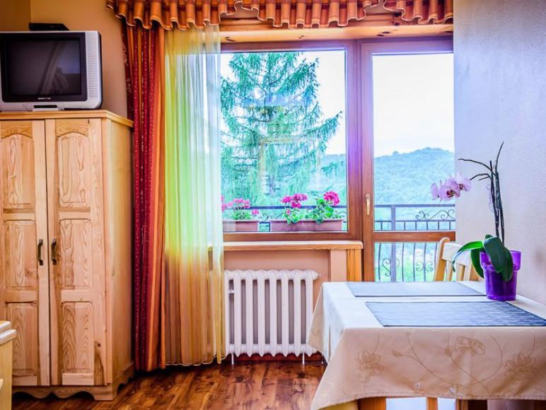 pokoj z łazienka w Szczawnicy