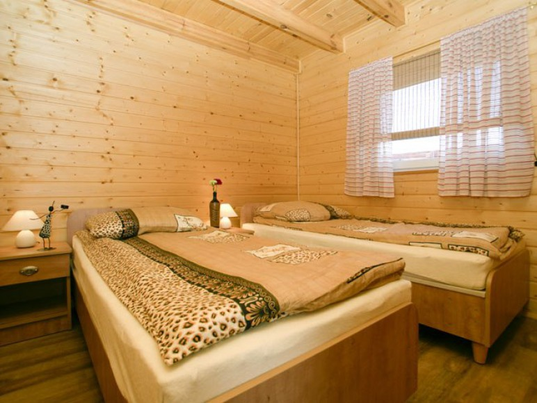 Domek - druga sypialnia.