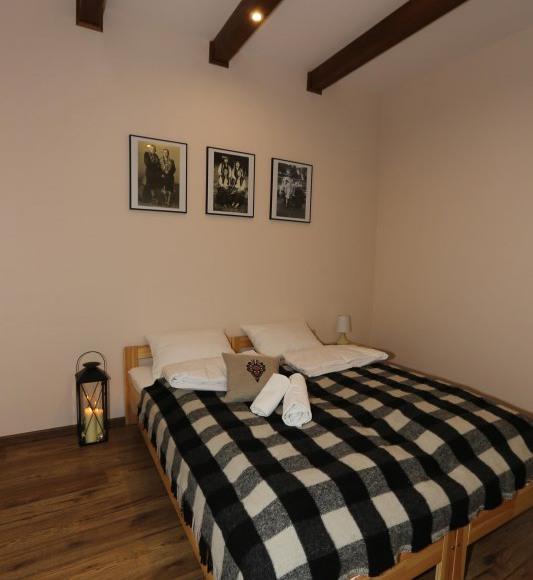 Apartament nr 1: sypialnia