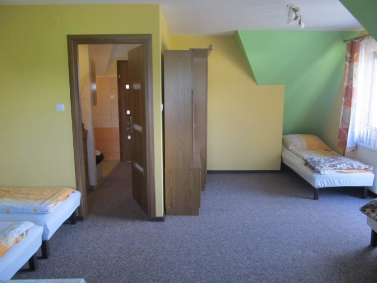 pokój 5-os z łazienką