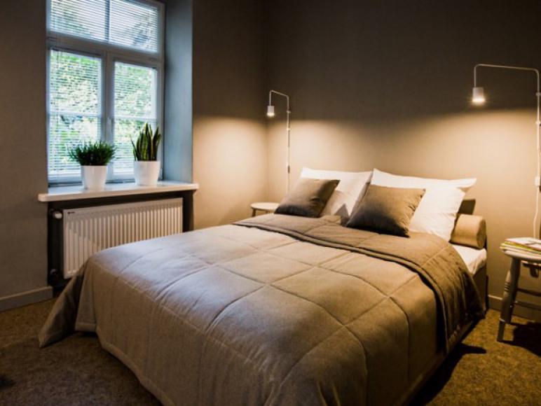 Apartament A - sypialnia